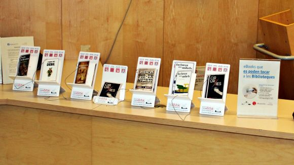 La Biblioteca de Volpelleres incorpora un sistema de descàrrega de llibres digitals