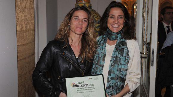 La web de l'Ajuntament, premiada per la UAB per la seva transparència