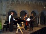 La iluminació nocturna del Claustre ha estat el millor escenari pels recitals