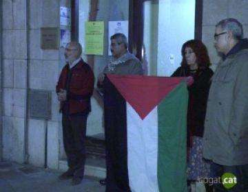 Aturem la Guerra continua denunciant l'atac israelià a Gaza