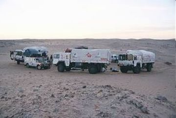 Concentració dels treballadors de Tabasa en suport als segrestats a Mauritània