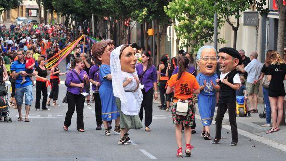 Esclat de tradició aquest dissabte amb el seguici de Sant Pere i el Paga-li Joan
