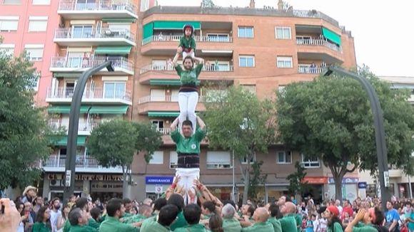 El seguici obre els quatre dies de Festa Major de Sant Cugat