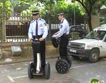 La Policia Local estudia una nova forma de patrullatge amb un vehicle elèctric de dues rodes