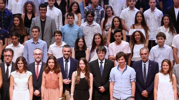 15 santcugatencs reben la menció d'honor de la Generalitat per obtenir les millors notes a les PAU