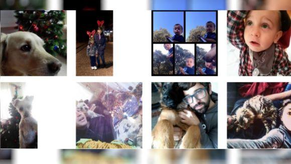Comencen les votacions populars del concurs de 'selfies' de Nadal de Cugat.cat