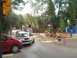 Durant els propers dies s'ultimaran els treballs d'adequació de la plaça Lluís Millet perquè puguin passar-hi els autobusos