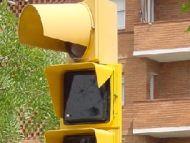 Els semàfors de la carretera de Vallvidrera continuen sense funcionar per falta d'un comptador de Fecsa