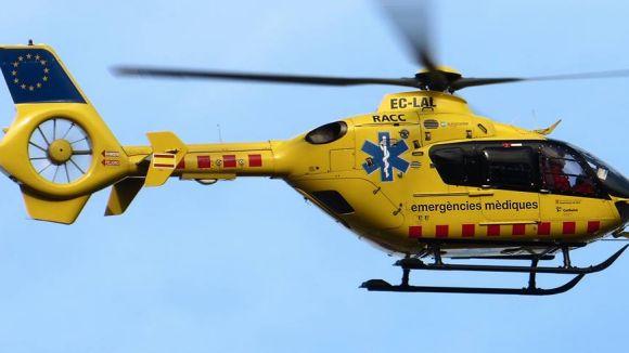 L'helicòpter pediàtric de Sant Pau celebra 20 anys a Sant Cugat amb 1.100 trasllats