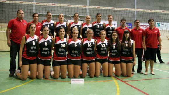 El Club Voleibol Sant Cugat debuta a la lliga davant l'Alcobendas