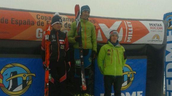 Sergi Lambea finalitza en tercera posició a la Copa d'Espanya d'esquí d'esprint
