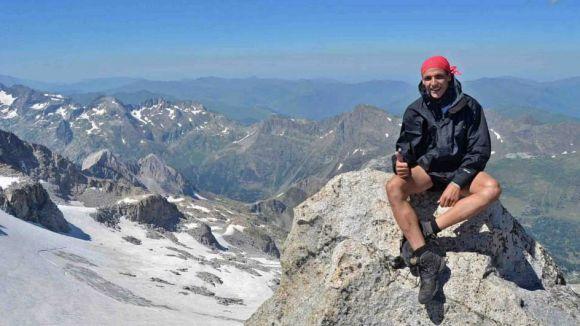 Sergi Massot, un santcugatenc amant de l'aventura que opta a ser 'Grifone dels Pirineus'