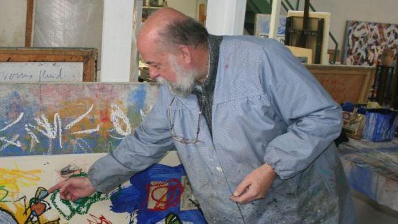 Fa tres dècades que Barnils es dedica a l'art / Foto: Sergi Barnils