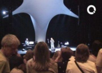 El Serrat més sincer i proper tanca la celebració dels 15 anys del Teatre-Auditori