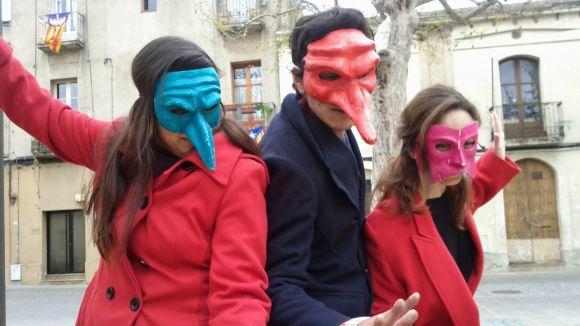Els Tallers de Teatre Sílvia Servan surten al carrer per celebrar els 20 anys