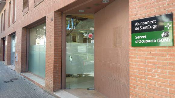 El Servei d'Ocupació Municiapal (SOM) es troba al carrer Vallès / Foto: Cugat.cat
