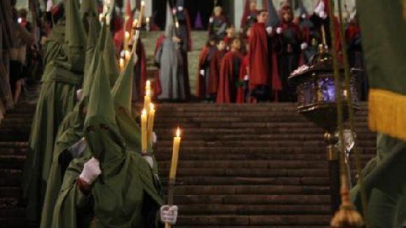 La Setmana Santa, una tradició ben viva dins el costumari català / Foto: ACN