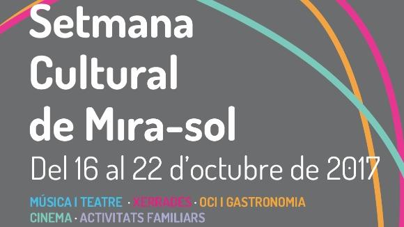 Setmana Cultural de Mira-sol: 'Passa'm la recepta!'