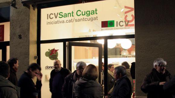 ICV vol reconvertir la seu en un espai obert a la ciutadania amb programació pròpia