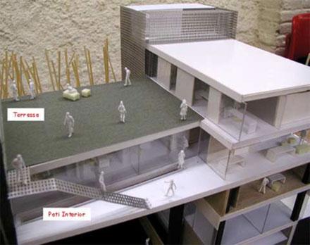 La nova seu tindrà 1.600 m2 i es construirà a la Rambla del Celler, a tocar del nou Ajuntament.