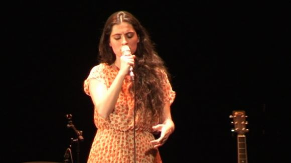 Sílvia Pérez Cruz enamora el Teatre-Auditori