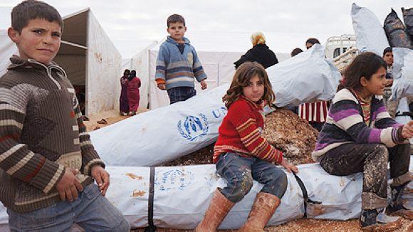 Sant Cugat estén la mà a Síria i es declara ciutat acollidora