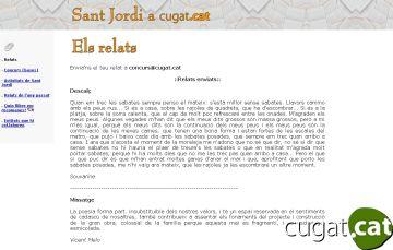 35 textos opten al concurs de microrelats de Cugat.cat