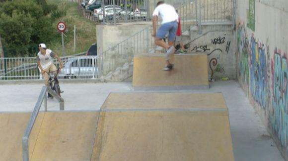 Les Planes ja disposa d'un 'skatepark'