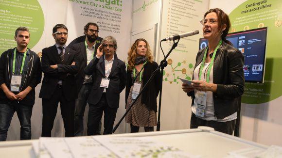 Sant Cugat ha presentat els seus projectes a l'Smart City Expo World Congress de Barcelona / Foto: Localpres