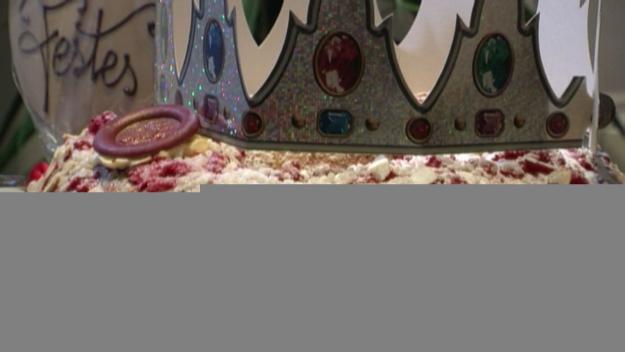El tortell de Reis de Jordi Mora i Georg Pircker fa les delícies dels santcugatencs