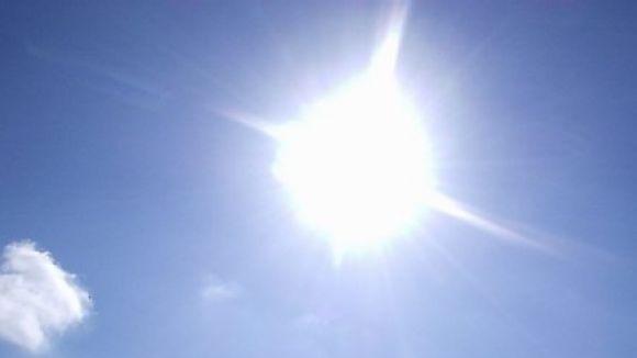 Sant Cugat frega avui la màxima de la setmana: 36 graus