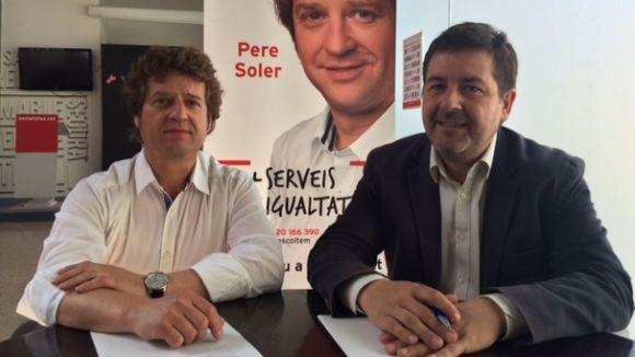 Cáceres deixa la primera secretaria del PSC i dóna pas a una comissió gestora