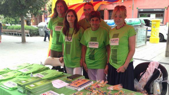 Solidaritat busca a Sant Cugat voluntaris per al referèndum del 9 de novembre