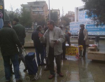 Recollida de signatures aquest dissabte a la plaça d'Octavià