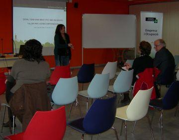 Santcugatenques emprenedores coneixen els processos per engegar un projecte empresarial
