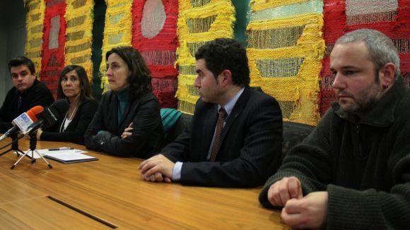 Front comú a favor de l'escola en català, sense el PP