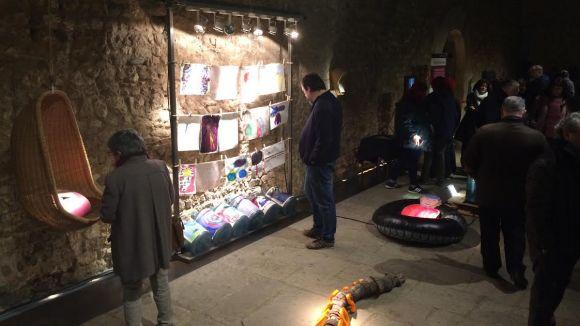Els usuaris de BenestArt denuncien la situació dels refugiats amb una exposició