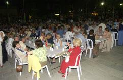 Els sopars populars donaran el tret de sortida a la segona nit de Festa Major