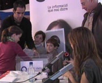 Sònia Ezquerra, guanyadora de la panera de Cugat.cat