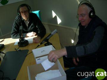 Xavier Sánchez i Francesc Ruiz, guanyadors de la panera de Cugat.cat