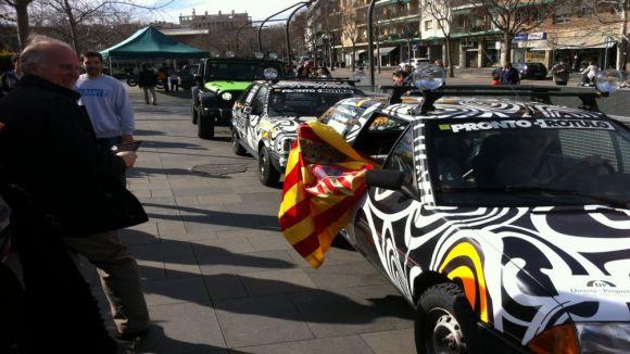 L'equip santcugatenc del ral·li Unidesert engega motors cap al Marroc