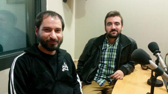 Jaume 'el Trico' i Ricky Undersounds a l'Estudi 2 de Cugat.cat