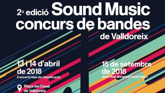 AJORNAT! 2n Sound Music - Concurs de bandes de Valldoreix