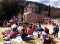 L'aplec de Sant Medir congrega milers de santcugatencs cada any.