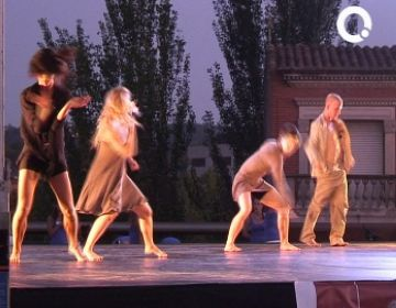La mostra de peces de l'Stage Internacional de Dansa ha tingut lloc a la plaça del Rei
