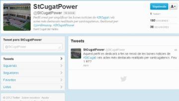 Neix @StCugatPower, un perfil de Twitter per aglutinar les notícies positives de la ciutat