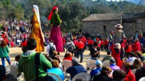 L'ermita de Sant Medir, preparada per acollir l'aplec diumenge de la setmana que ve