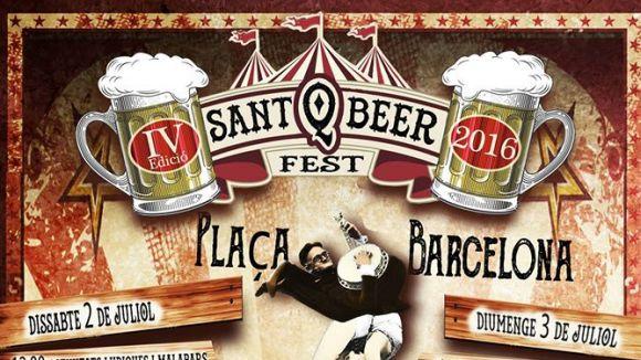 El Sant Q Beer omplirà de cervesa i música la plaça de Barcelona per Festa Major