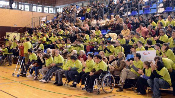 Esportistes i entitats dels StQlímpics festegen el Premi Ciutat de Sant Cugat