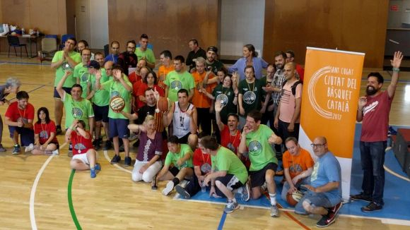 El bàsquet reforça la seva vessant més integradora a la cinquena edició dels StQlímpics